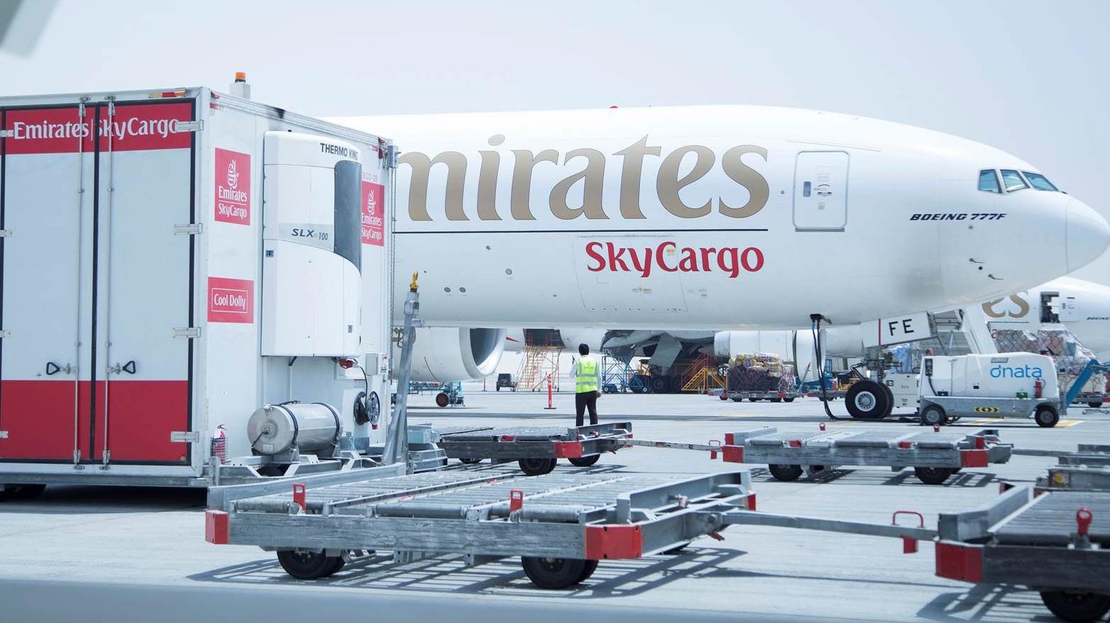 Emirates SkyCargo carries 2.6 million ton cargo in 2018