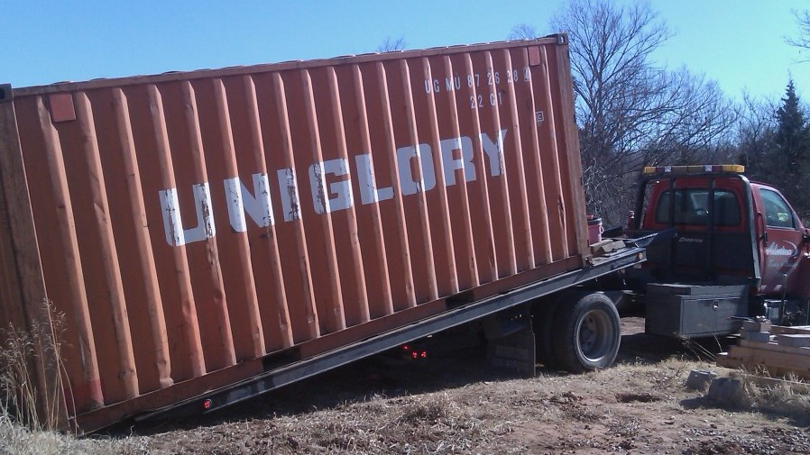 Shipper might end up paying the cost for abandoned containers