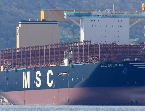 MSC Gülsün is the newest largest container ship